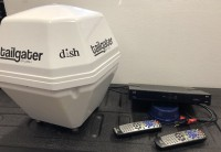 Dish Network Tailgater and Receiver