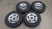 """Set of four (4) Airstream 16"""" Wheels and Tires"""
