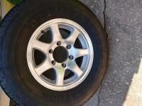 One spare wheel. 15″ 7 spoke