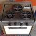 1962 Airstream 3-Burner Meynell Stove Overall