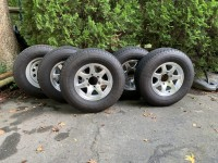 2017 Airstream Factory Tires and Wheels