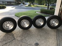 Aluminum Airstream Trailer Wheels 15 » wheels 6 Lug