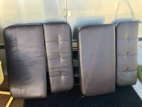 Airstream dinette table and 4 cushions from 2015 International Signature